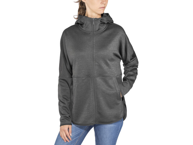 The North Face Cozy Slacker Chaqueta con cremallera completa Mujer, tnf dark grey heather